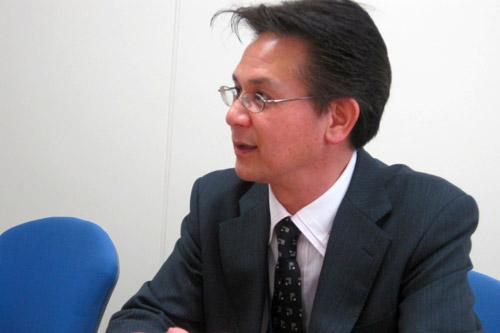 終始、穏やかな語り口調の柳田部長
